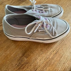 Vans with hearts for toddler